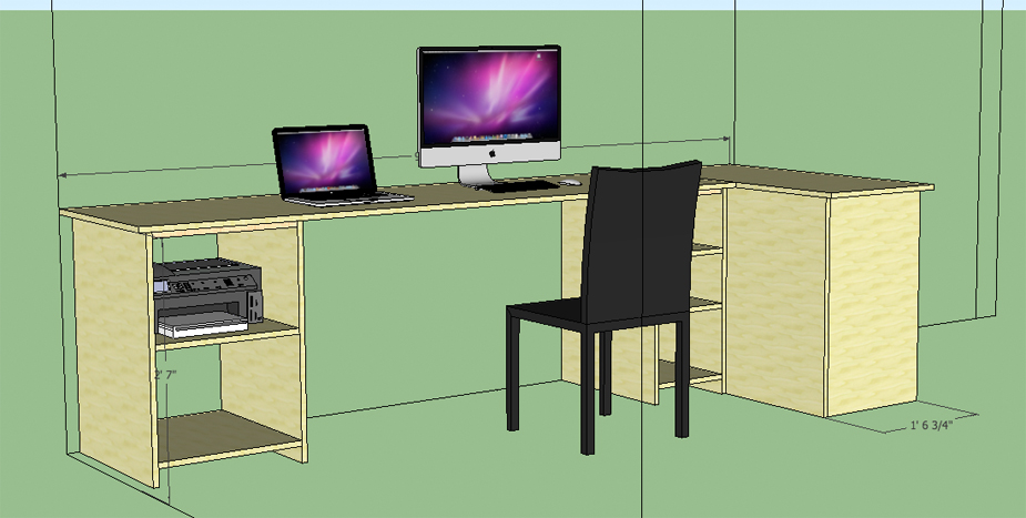home-office-sketchup